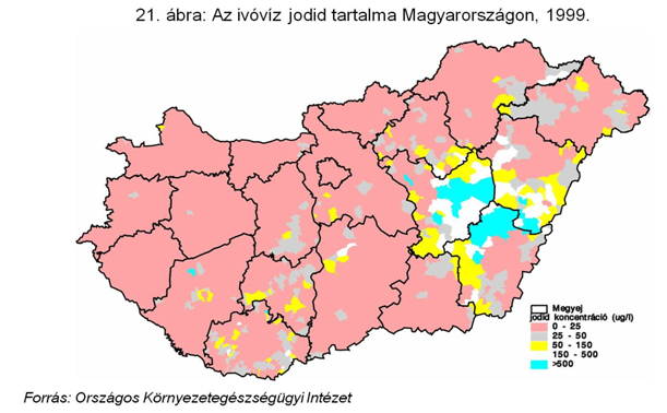 Hungary iodine